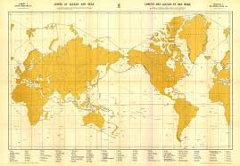 Ocean Map World by How Many Oceans And Seas What Is U201climits Of Oceans And Seas U201d S