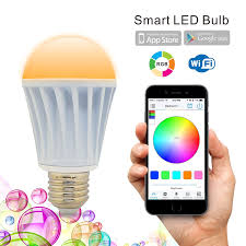 Type G Led Light Bulb by Flux Wifi Smart Led Light Bulb Works With Alexa Smartphone