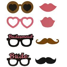 20pcs photo mustache stick booth wedding prop welcome mask props