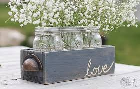 rustic center pieces 13 rustic jar centerpieces to try diy projects