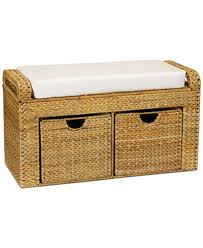 Cushioned Storage Bench Household Essentials Cushioned Storage Bench Cleaning