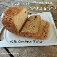 Paleo Bread Recipe Bread Machine Gluten Free Cinnamon Raisin Bread With Cinnamon Butter