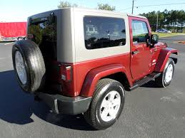jeep sahara red jeep wrangler sahara in south carolina for sale used cars on