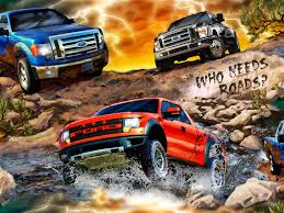 Ford F150 Truck Length - we cannot forget our monster truck fabric showing the f150 as it