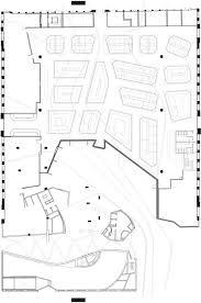 floor plan enric miralles embt santa caterina market