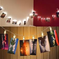 string lights with picture clips buy louis will led photo clips string lights 8 2ft 20 led clips