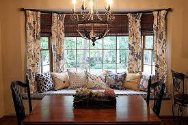 curtain ideas for dining room dining room bay window curtain ideas beautiful how to solve the