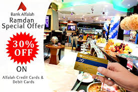 credit cuisine bank alfalah options ramadan offer 30 discount on alfalah