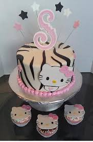 hi kitty cake