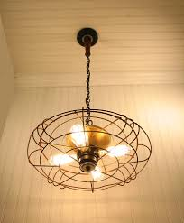 vintage industrial ceiling fans windmill chandelier lighting fixture original farmhouse exclusive by