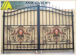 portail pour maison pas cher anju acier gate 071 pas cher portail coulissant conceptions pour