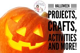 a first for everything halloween projects crafts activities