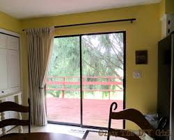 Curtains For Sliding Glass Patio Doors Delightful Ideas Sliding Glass Patio Awesome Curtain Rod For