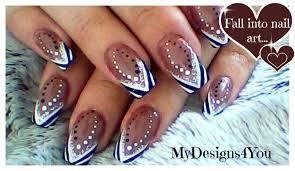 abstract nail art tutorial black and white nails абстрактный