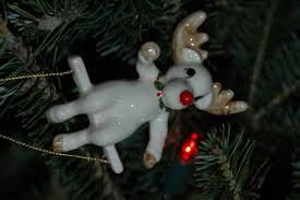 christmas tree ornaments from the garret