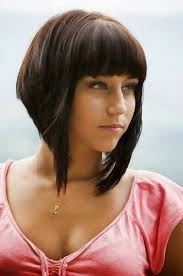 best short haircuts for women with bangs schoonheid mode