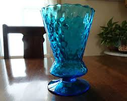 Italian Glass Vases Colored Glass Vases Etsy
