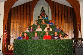 singing christmas tree shiloh baptist church