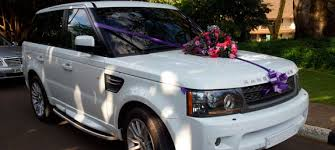 wedding hire ngatia rangerover sport wedding cars in nairobi corporate events