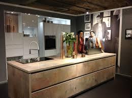 Chicago New Finish From Bauformat Kitchen Cabinets Rustic Urban - Rustic modern kitchen cabinets