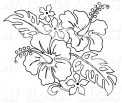 coloring pictures of hibiscus flowers coloring pages hawaiian hibiscus flower page for kids flowers sheets