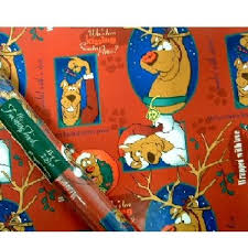 wholesale christmas wrapping paper wholesale christmas gift wrap scooby doo sku 248735 dollardays