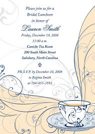 wording for bridal luncheon invitations photo sle bridal luncheon invitation image