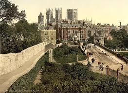 yorkshire york from the city walls in the 1890 s nano