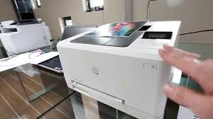 hp color laserjet pro m252 im hands on 4k deutsch youtube