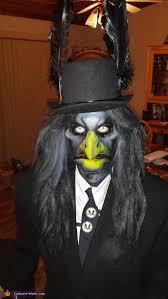 Crow Halloween Costume Homemade Raptor Costume
