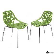 Faux Leather Dining Chairs With Chrome Legs Adeco Cut Out Tree Design Plastic Dining Chairs With Chrome Legs