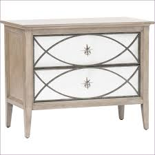 bedroom awesome white mirrored accent table gray nightstand