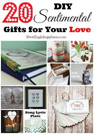 sentimental gifts for 20 diy sentimental gifts for your