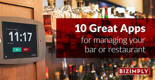 top 10 drinks order bar 10 great apps for managing your bar or restaurant bizimply