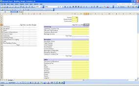 printable wedding expense list wedding spreadsheet template