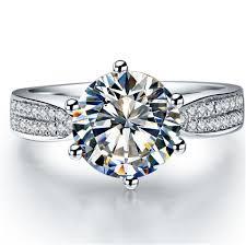 wedding ring test brilliant 1 5ct moissanite wedding ring test positive charles