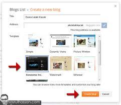 step by step membuat website sendiri cara buat blog sendiri buckface rabbitry pinterest blog