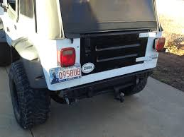 Jeep Yj Rear Bumper Build John U0027s Random Stuff