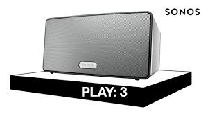 sonos connect home theater play 3 u2014 mid size home speaker with stereo sound sonos