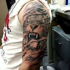 grey ink angry tiger photo 3 photo pictures and