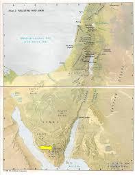 Sinai Peninsula On World Map by Mount Sinai In Arabia U2026 Galatians 4 25 U2013 Always Proven True