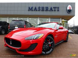 maserati red 2013 maserati granturismo sport coupe in rosso mondiale red