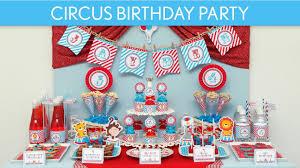 circus birthday party ideas circus carnival b31 youtube