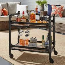 Vegas Storage Bar Table Bar Carts Kitchen U0026 Dining Room Furniture The Home Depot