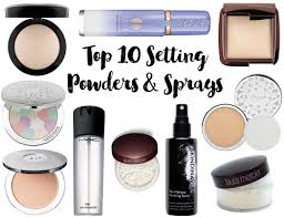 top 10 setting powders and sprays for dry skin u2022 realizing beauty
