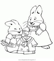 max and ruby coloring pages sketch coloring page