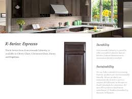 Cherry Espresso Cabinets K Series Espresso Cabinets Affordable Cabinets Nh
