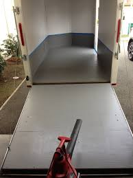 how to paint a garage floor with epoxy tos diy stenciled pattern