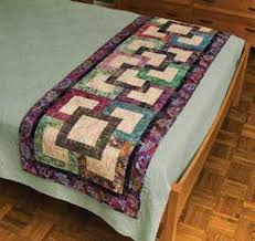 48 best quilting bed runners images on bed runner