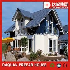 wuhan daquan 100m2 modern design house plans prefab homes made by